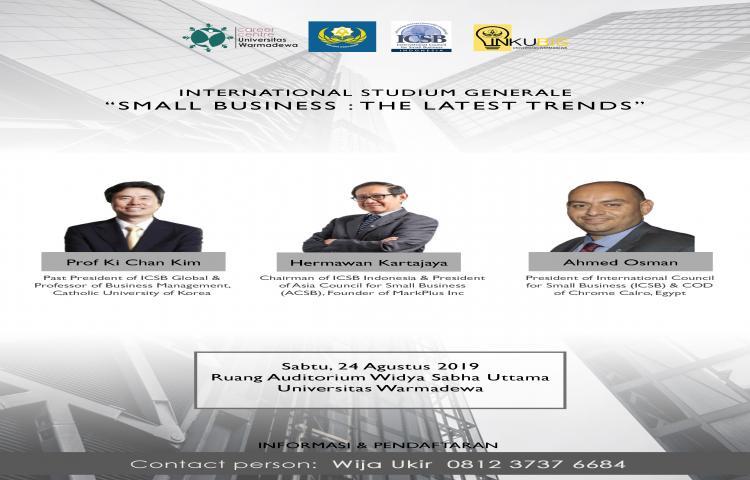 International Studium Generale Tahun 2019